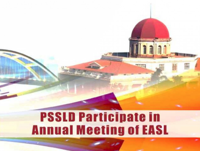 PSSLD Participate in Annual Meeting of EASL