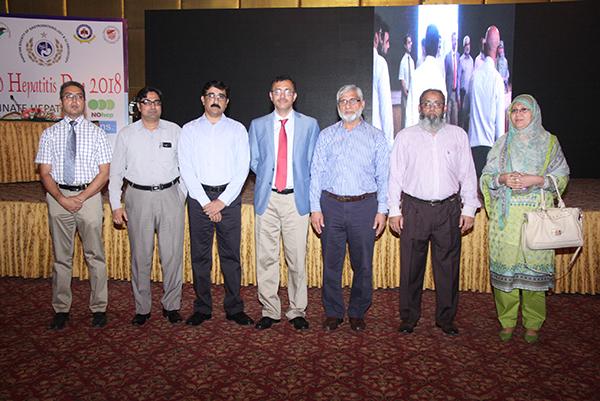 World Hepatits Day in Lahore