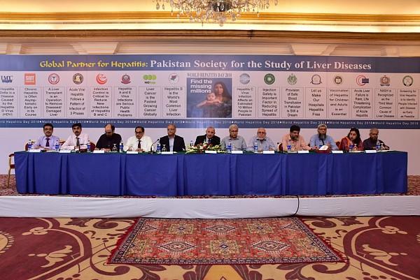 World Hepatits Day in Karachi
