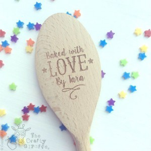 PERSONALISED BAKED WITH LOVE BY… SPOON